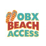 OBX beach access logo